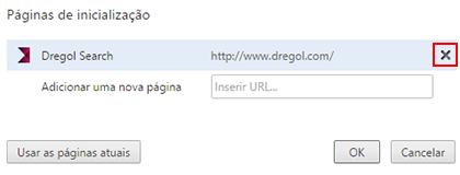 Chrome Paginas De Inicializacao Dregol