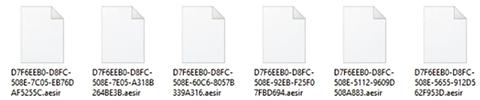 Remoção do ransomware Aesir