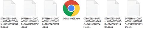 Remoção do ransomware Osiris