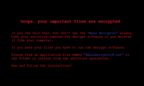 WannaCry papel de fundo